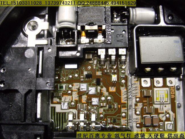 氙气灯安定器内部电路图