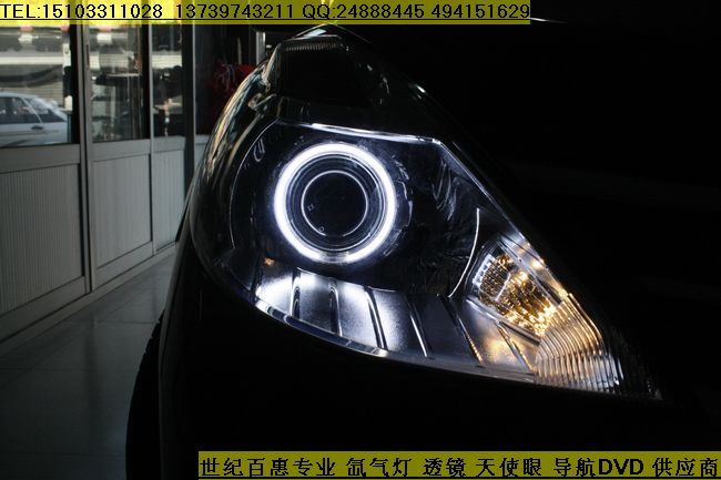 石家庄骐达灯光升级,改装全新q5双光透镜
