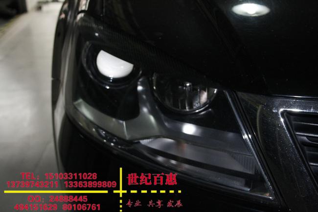 帕萨特新领驭改装博世双光透镜,世纪百惠专业灯光升级高清图片