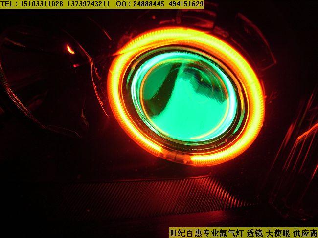 07款福克斯改装斯巴鲁小糸双光透镜,天使眼,恶魔眼 高清图片